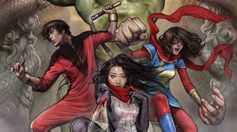 Marvel Assembles its Asian American Superheroes in One