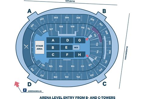 Directions & Maps | Hartwall Arena