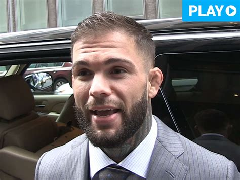 Cody Garbrandt Says He Would Let His Future Son Fight in